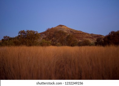 Night coming up in Karijini National Park
