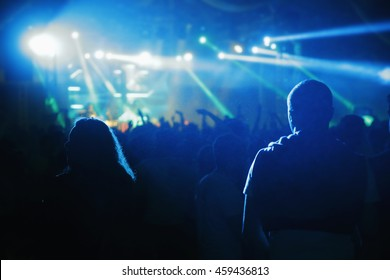 Night Concert, Community, Entertainment and With enthusiasm