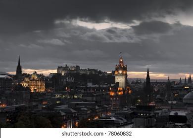 night edinburgh
