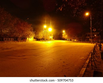 Night Empty Street