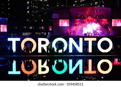 Night festival, Toronto