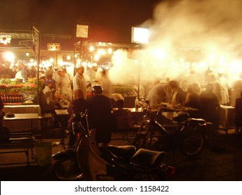 Night Food stalls – Marrakesh