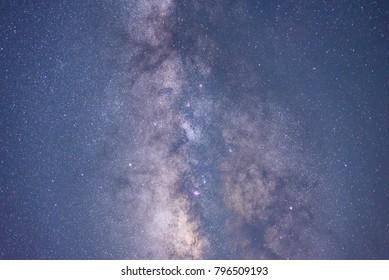 Night Galaxy landscape