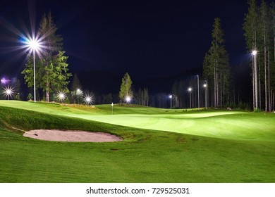 Night golf on this course is experienced. Slovakia.