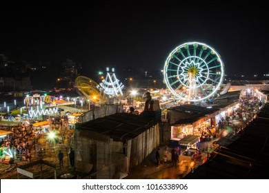 A night at goose fair in Pune