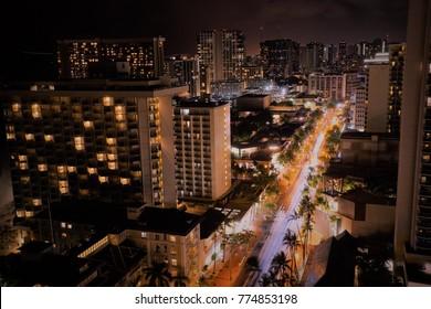 night in hawaii