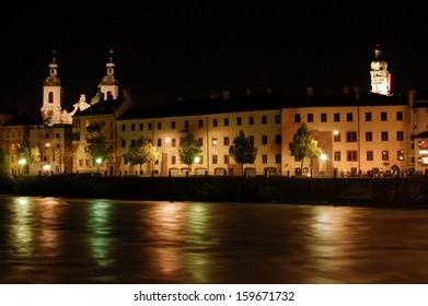 Night in Innsbruck - Austria