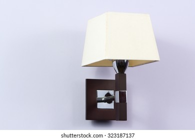 Night lamp hanging on the wall