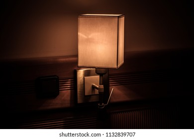 night lamp on the wall