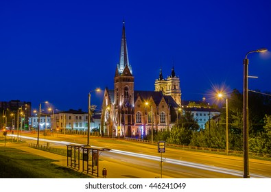 Night Latgalia, Evangelical Lutheran Church of Martin Luther, Daugavpils, Latvia