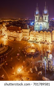 Night life in Prague