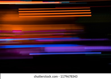 Night light colorful abstract background, light of night.