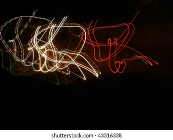 night lights abstract  picture