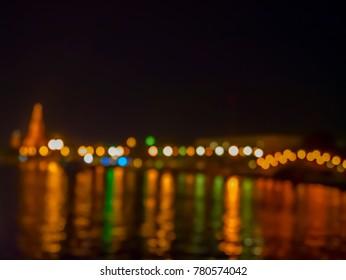 Night lights in Bangkok