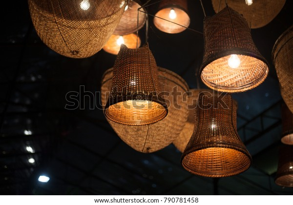 Night Lights Party Decorative Lamp Hanging Stock Photo Edit Now 790781458