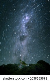 Night Long exposure at Great Barrier Island