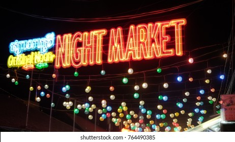 Night market at Cambodia