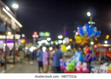 Night Market, Nakhon Ratchasima, Thailand