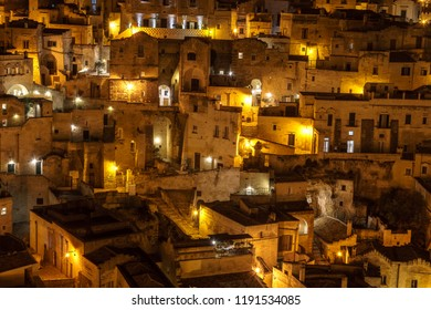 Night at Matera