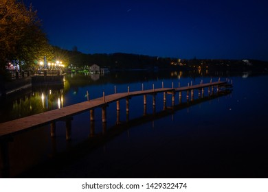 Night mood in Stegen am Ammersee Bavaria GermanyNight mood in Stegen am Ammersee Bavaria Germany