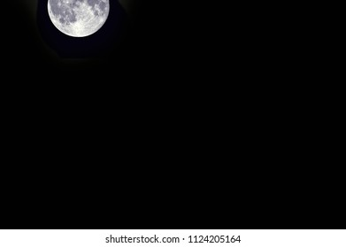 Night with a moon