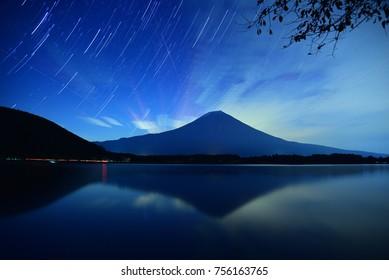 Night of Mt Fuji