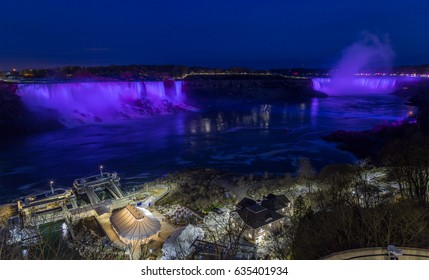 night niagara