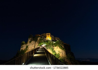 The night on Civita di Bagnoregio
