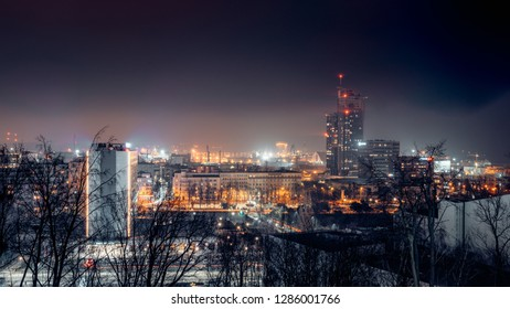 Night Panorama of Gdynia