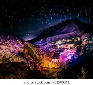 night party in dahab desert