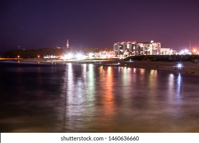 Night Photo of Durban City in South africa