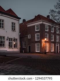 Night photography in Bergen op Zoom, the Netherlands