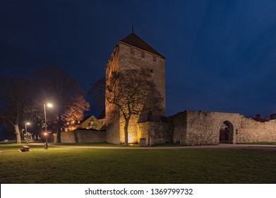 Night photos from World Heritage town Visby on the island of Gotland in Sweden.