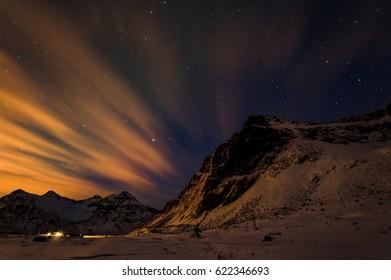 Night Scene in Norway