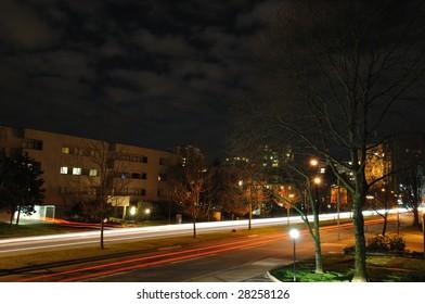 night scene of Richmond