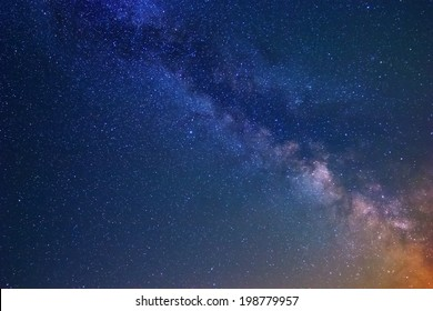 night scene sky background