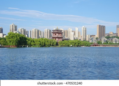 Night scenes of Tang Paradise in Xiâ??an(Xian),China