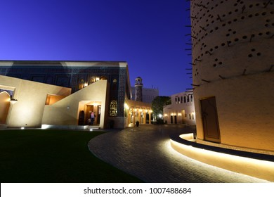 Night shot in Doha, Qatar
