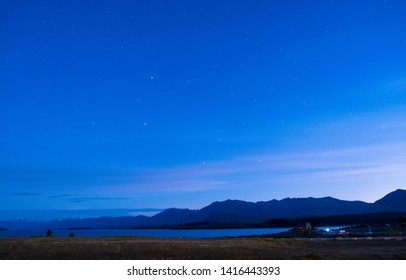 Night Skies at Lake Tekapo, New Zealand