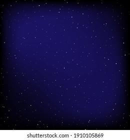 Night sky background texture illustration