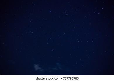 night sky background : Thailand