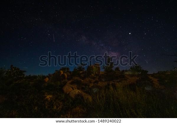 Night Sky Joshua Tree National Park Stock Photo Edit Now