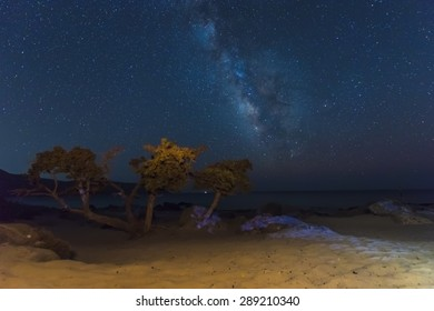 Milky Way Seaside Stock Photos, Images & Photography