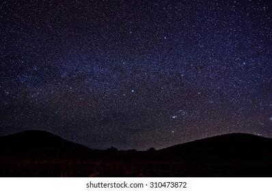 Night sky Mauna Kea