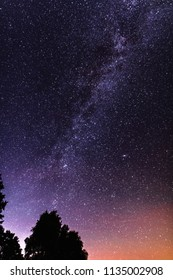 Night sky with Milky Way