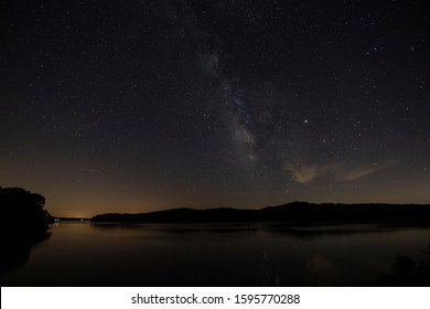Night Sky and Milky Way from Lake Barkely in Kentucky