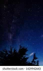night sky from prau mountain