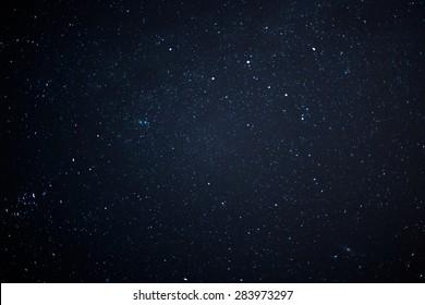 Night sky with stars. - Shutterstock ID 283973297