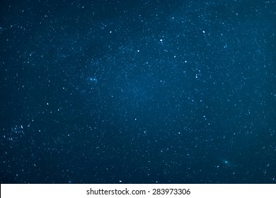 Night sky with stars.