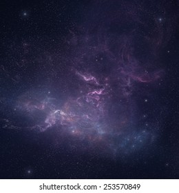 Night sky - Universe filled with stars Elements of this image furnished by NASA
